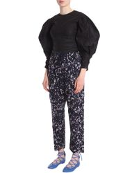 """Isabel Marant - """"maya"""" Cotton Shirt With Bustier - Lyst"""