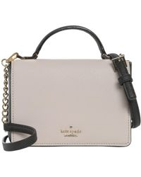 Kate Spade - Hope Mini Leather Crossbody Bag - Lyst