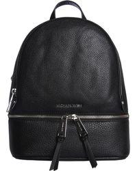 73c90fb819f6d MICHAEL Michael Kors - Medium Rhea Zip Backpack In Bottled Leather - Lyst
