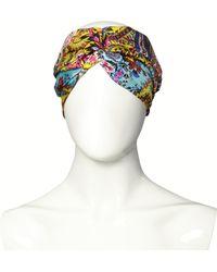 Etro - Silk Print Turban - Lyst