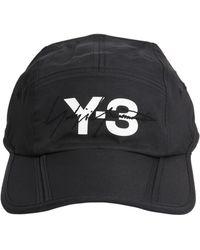 Y-3 - Foldable Cap In Technical Twill - Lyst