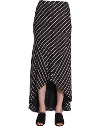 Haider Ackermann - Long Striped Skirt - Lyst