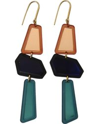 Isabel Marant - Totem Multicoloured Earrings - Lyst