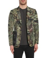 "Givenchy - ""camo Dollar"" Print Techno Satin Jacket - Lyst"