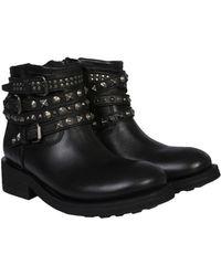 Ash - Leather Tatum Boots - Lyst
