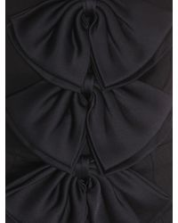 Givenchy - Crêpe Jumpsuit With Sain Bows - Lyst