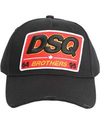 DSquared² - Cotton Baseball Cap - Lyst
