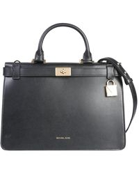 MICHAEL Michael Kors - Medium Tatiana Leather Handbag - Lyst