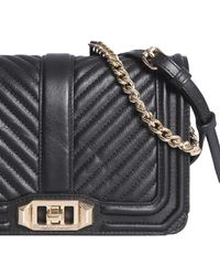 Rebecca Minkoff - Small Chevron Quilted Leather Bag - Lyst