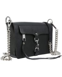 Rebecca Minkoff - M.a.b. Crossbody Bag In Textured Leather - Lyst