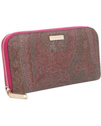 Etro - Paisley Medium Wallet - Lyst