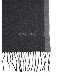Tom Ford - Silk Scarf - Lyst