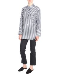 "Equipment - Striped ""clarke"" Cotton Shirt - Lyst"
