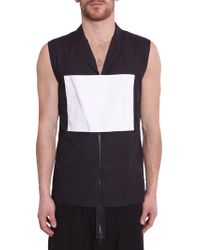 Hood By Air - Cotton Zipped Vest - Lyst
