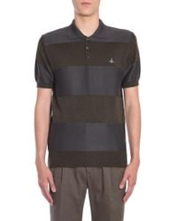 Vivienne Westwood - POLO A RIGHE IN LANA - Lyst