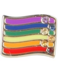 Marc Jacobs Rainbow Pin With Crystals