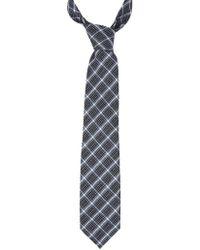 Tom Ford - Silk Blend Check Tie - Lyst