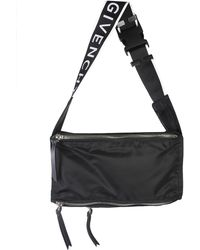 Givenchy - 4g Pandora Sling Pouch In Nylon - Lyst