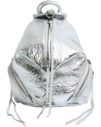 Rebecca Minkoff - Convertible Julian Mini Leather Backpack - Lyst