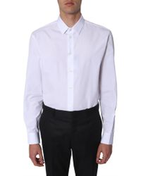 Saint Laurent - Yves Collar Shirt - Lyst