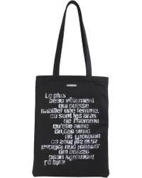 Saint Laurent - Merabi Flat Cotton Shopping Bag - Lyst