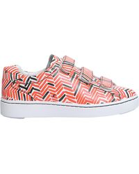 0f839e45c8a Lyst - Carvela Kurt Geiger Limpid Tweed Slip On Trainers in Pink