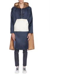 Marni - Hooded Colour Block Raincoat - Lyst