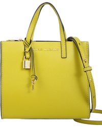 Marc Jacobs - Mini Grind Leather Tote Bag - Lyst
