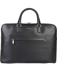 Paul Smith - Leather Messenger Bag - Lyst