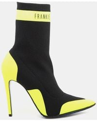 Frankie Morello - Vicky Elastic Ankle Bootie - Lyst