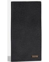 Ferragamo - Pebble Grain Calfskin Breast Pocket Wallet - Lyst