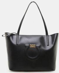 Ferragamo - City Leather Tote Bag - Lyst b732e5b40a1fc