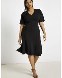 Eloquii - Kimono Sleeve Dress - Lyst