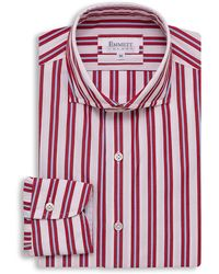 Emmett London - Red & Blue Striped Shirt - Lyst