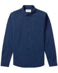 Folk - Button Down Relaxed Shirt - Lyst
