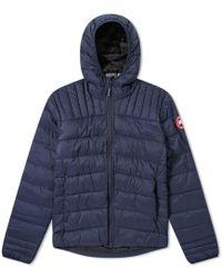Canada Goose Brookvale Hooded Jacket - Blue