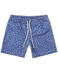 Hartford   Batik Swim Short   Lyst