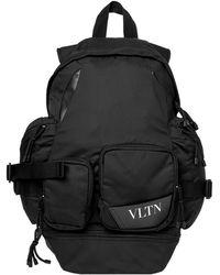 Valentino - Vltn Technical Backpack - Lyst