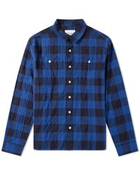 Albam - Otto Check Shirt - Lyst