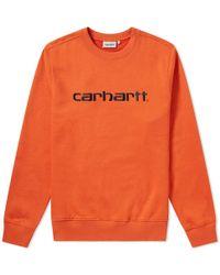 Carhartt WIP - Carhartt Crew Sweat - Lyst