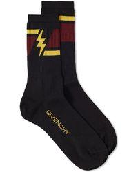Givenchy - Lightning Bolt Sock - Lyst
