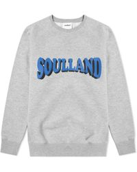 Soulland - Hockney Crew Sweat - Lyst