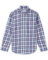 Our Legacy - Splash Original Checked Shirt - Lyst