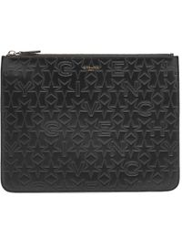 Givenchy - Large Stars Embossed Pouch - Lyst