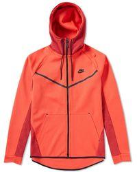 Nike - Tech Fleece Allover Print Windrunner - Lyst