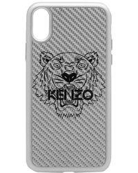 KENZO - Carbon Fibre Iphone X Case - Lyst