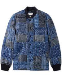 FDMTL - Sashiko Down Jacket - Lyst
