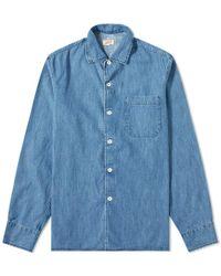 Arpenteur - Pajama Denim Shirt - Lyst