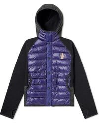 Moncler Grenoble - Down Fleece Hooded Jacket - Lyst