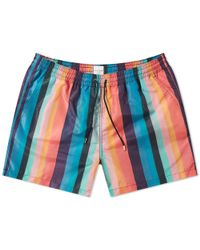 96291ad65ab1d Paul Smith Men Short Classic Prawn in Blue for Men - Lyst